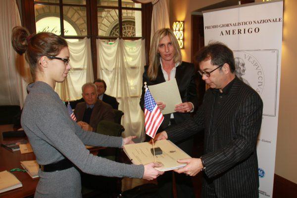 premiazione premio amerigo 2011-2