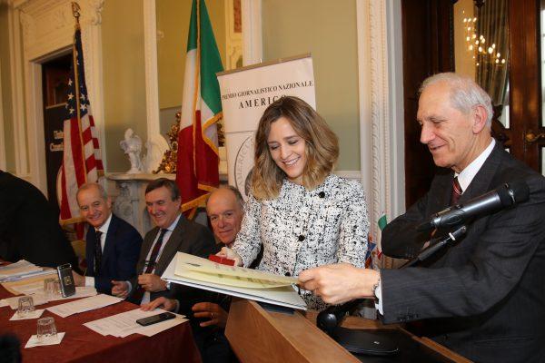 UFFICIO STAMPA PREMIO GIORNALISTICO AMERIGO PREMIO A GIOVANNA PANCHERI SKY
